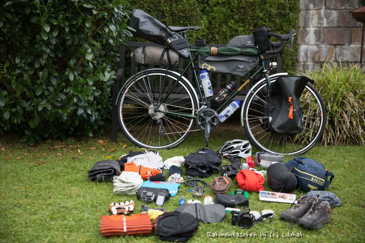 Rahmentaschen – Bikepacking Test (1) – Udo Bike Blog